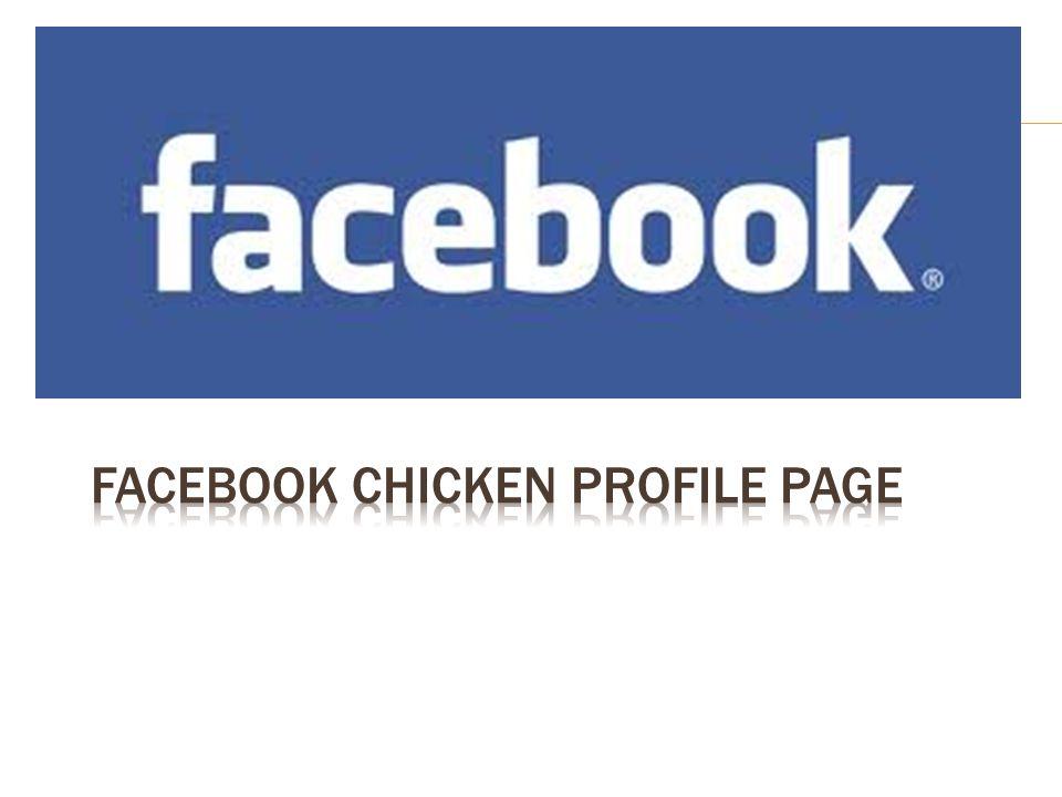 Facebook Chicken Profile Page