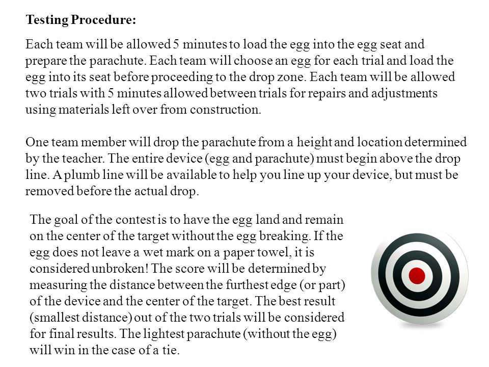 Testing Procedure: