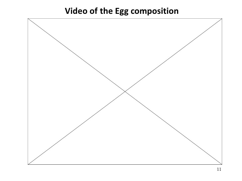 Video of the Egg composition