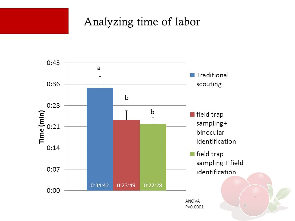 Analyzing time of labor