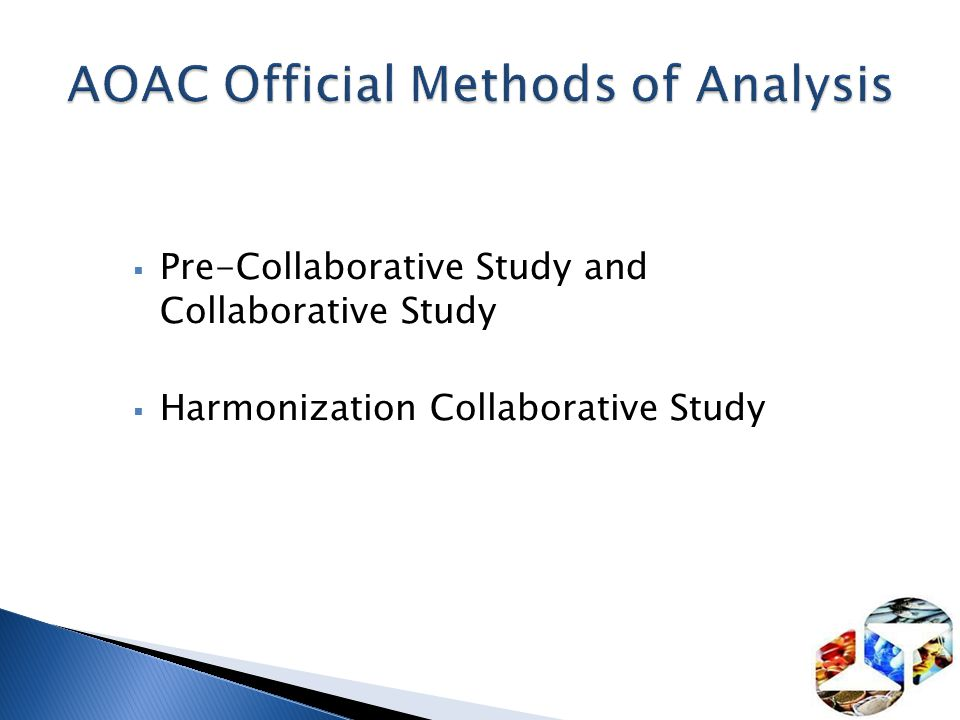 AOAC Official Methods of Analysis