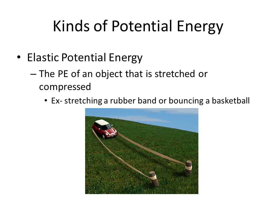 Kinds of Potential Energy