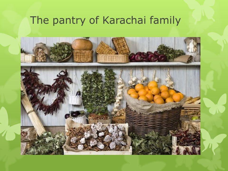 The pantry of Karachai family