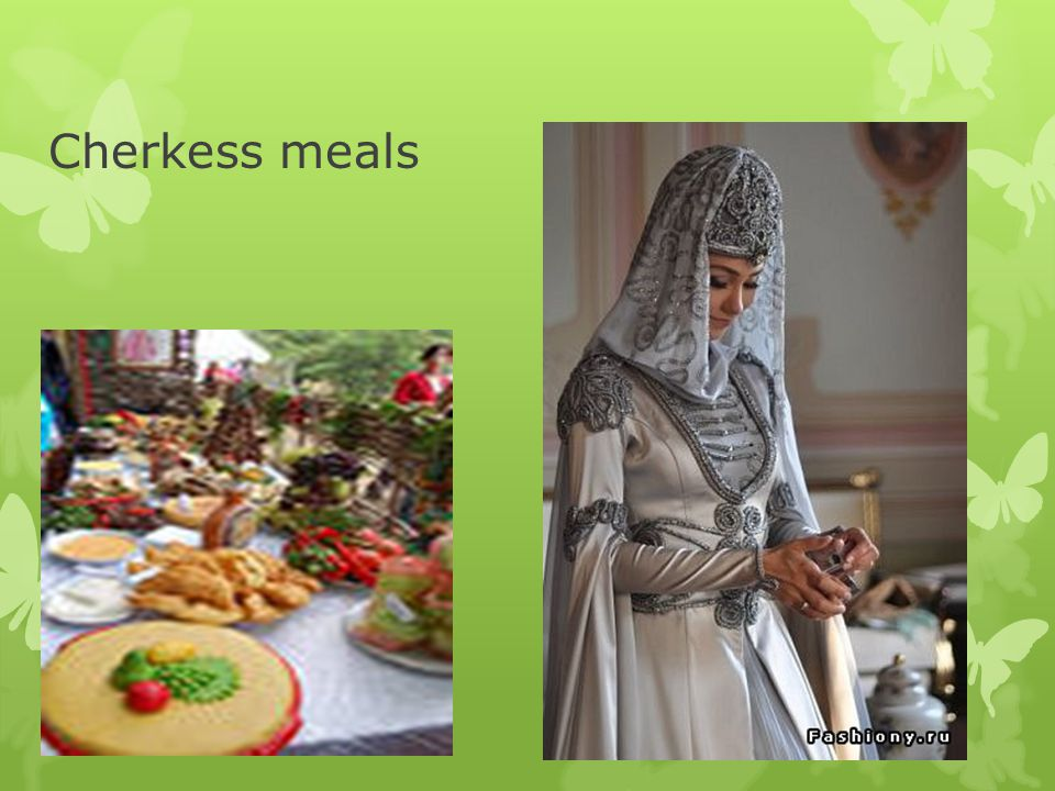 Cherkess meals
