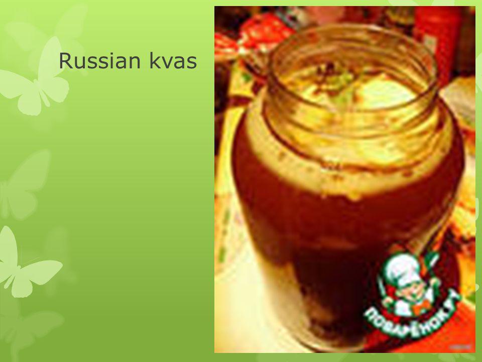 Russian kvas