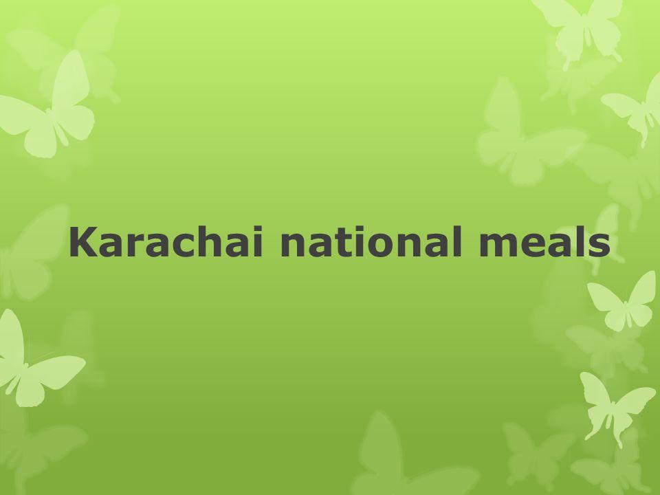 Karachai national meals