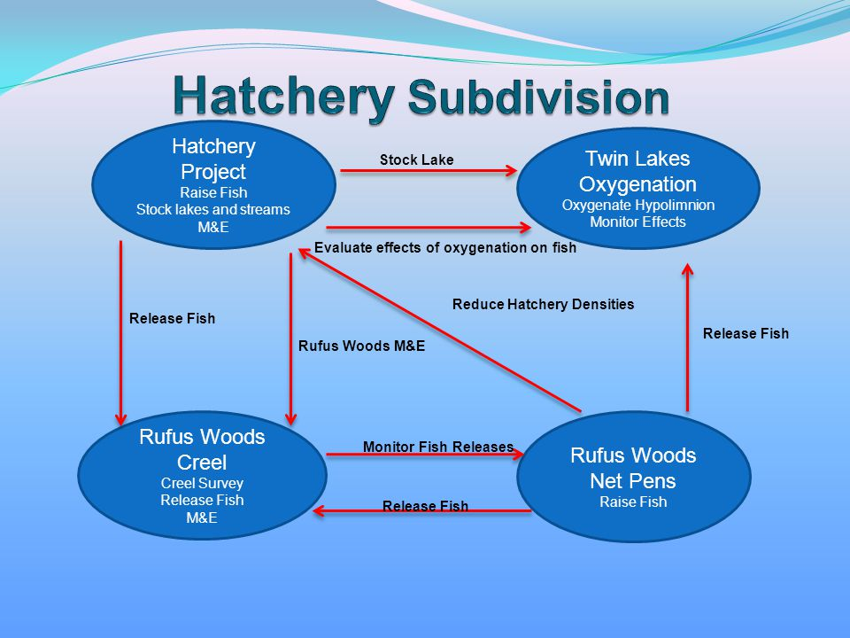 Hatchery Subdivision Hatchery Project Twin Lakes Oxygenation