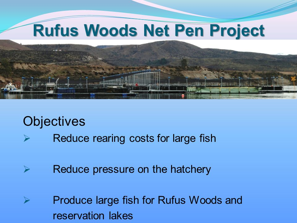 Rufus Woods Net Pen Project