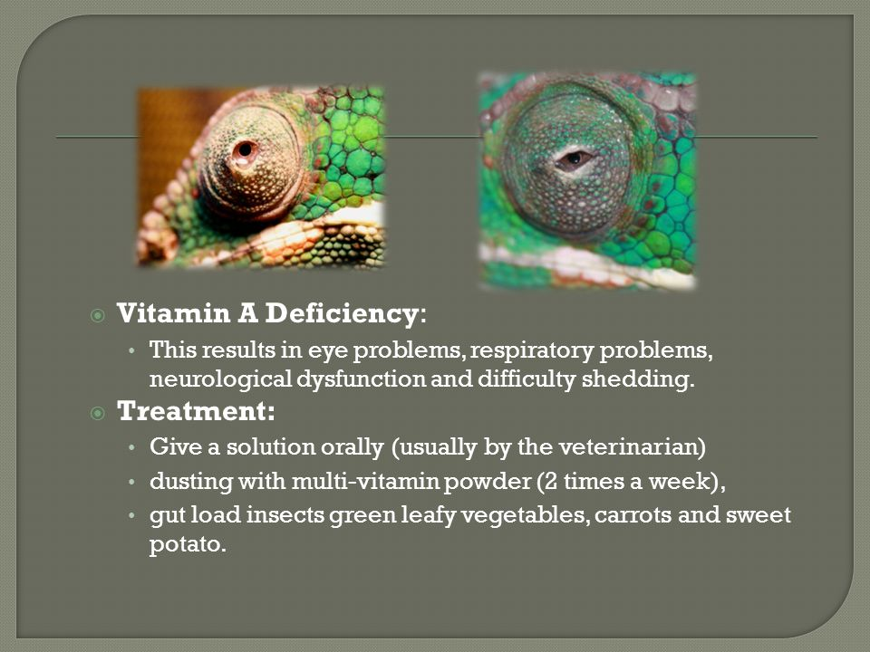 Vitamin A Deficiency: Treatment: