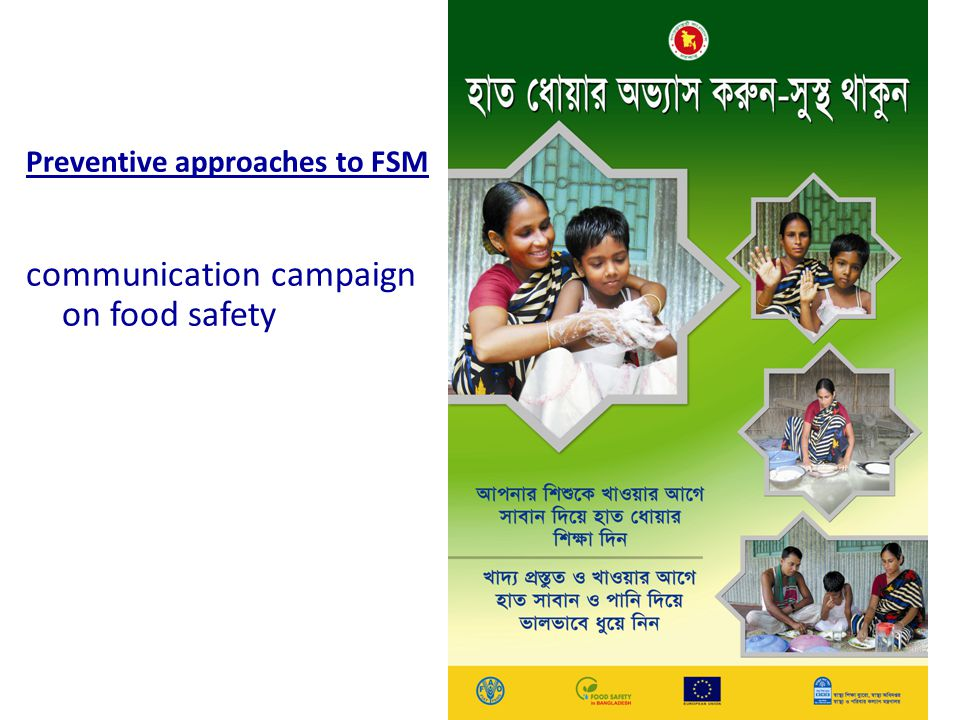 communication campaign on food safety