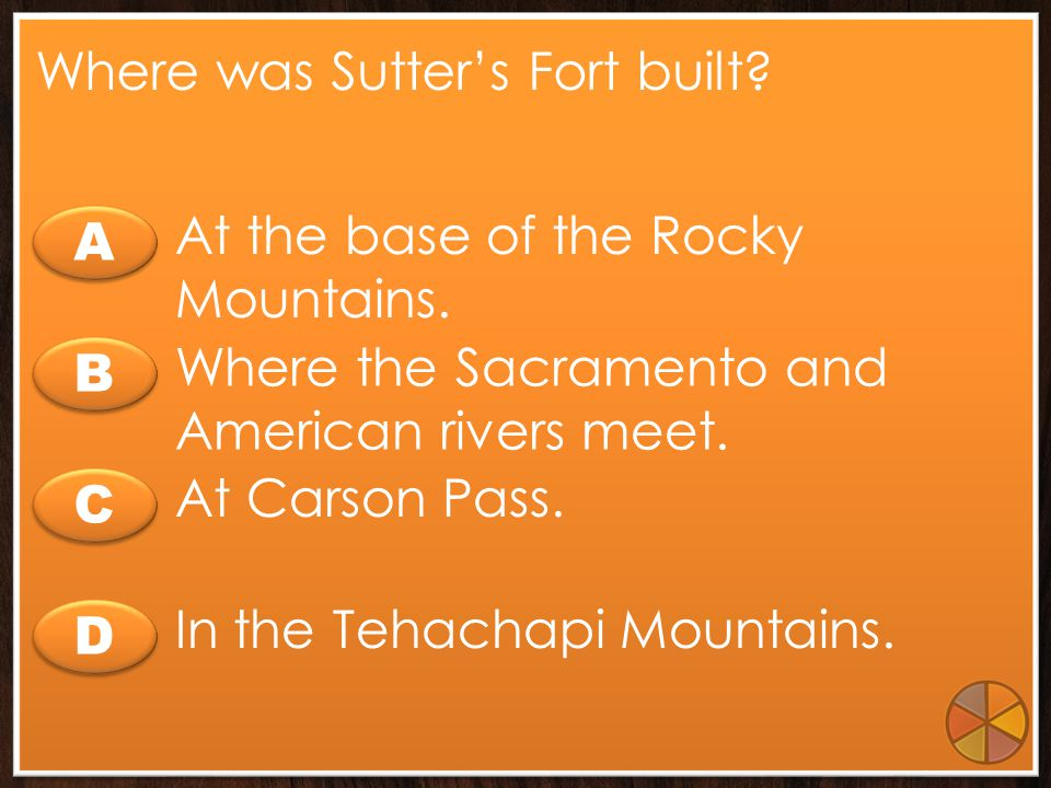 Where was Sutter's Fort built