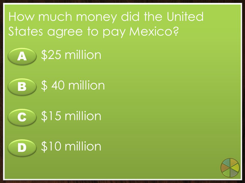 How much money did the United States agree to pay Mexico