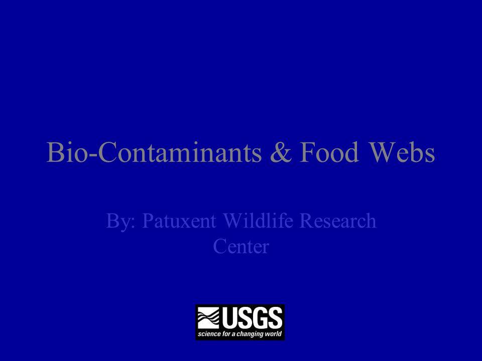 Bio-Contaminants & Food Webs