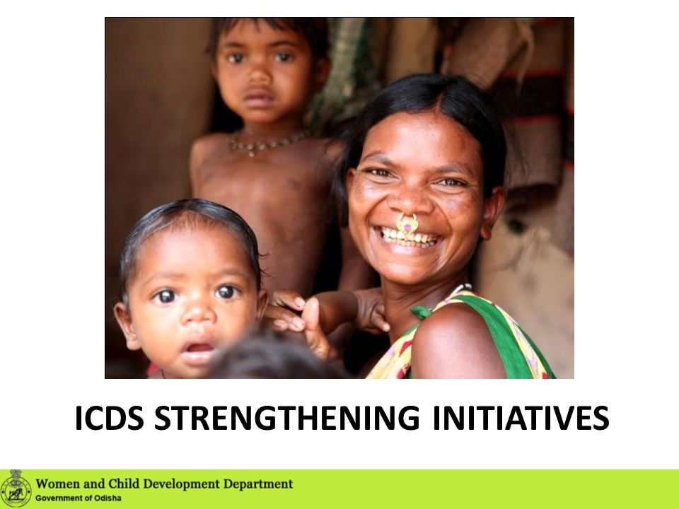 ICDS Strengthening Initiatives