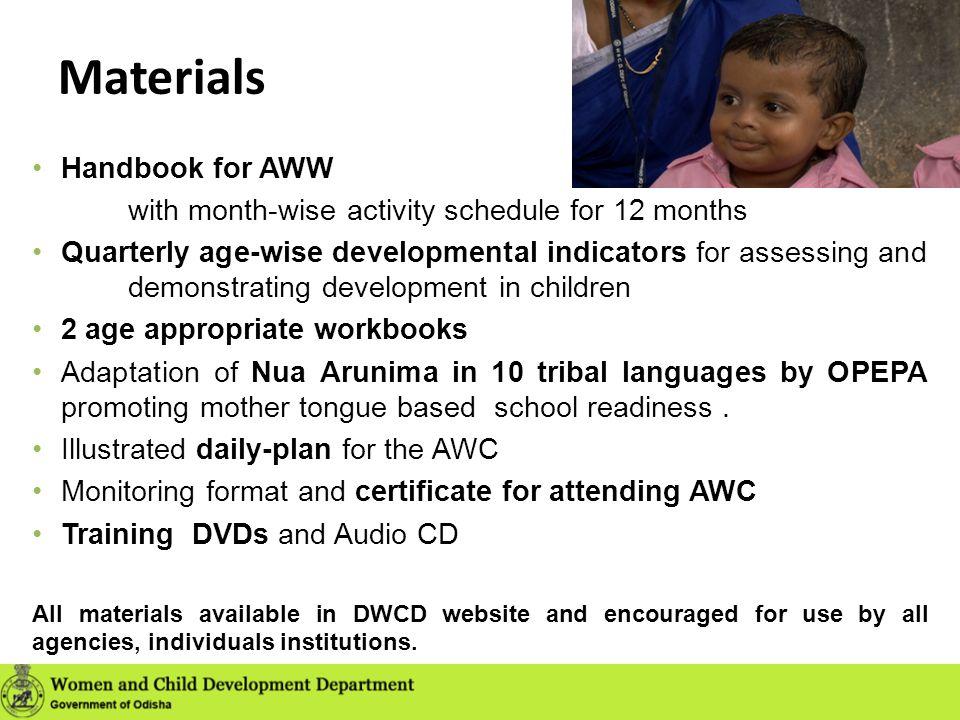 Materials Handbook for AWW