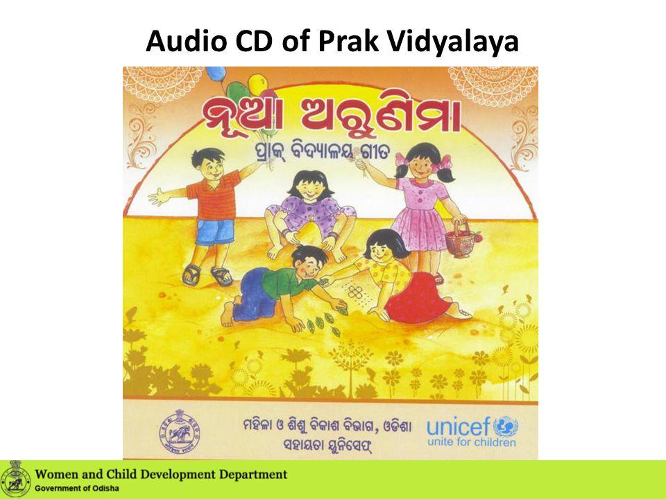 Audio CD of Prak Vidyalaya