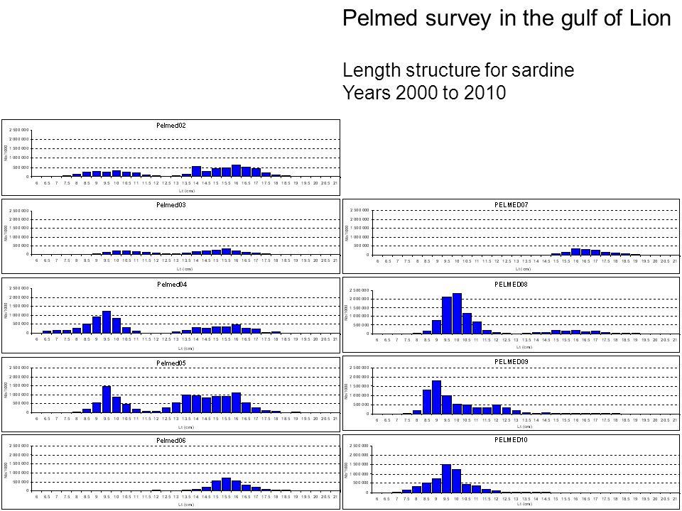 Pelmed survey in the gulf of Lion