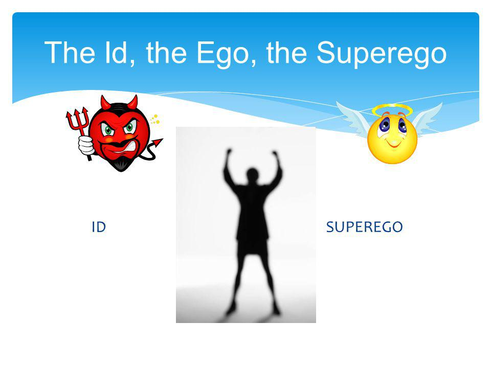 The Id, the Ego, the Superego