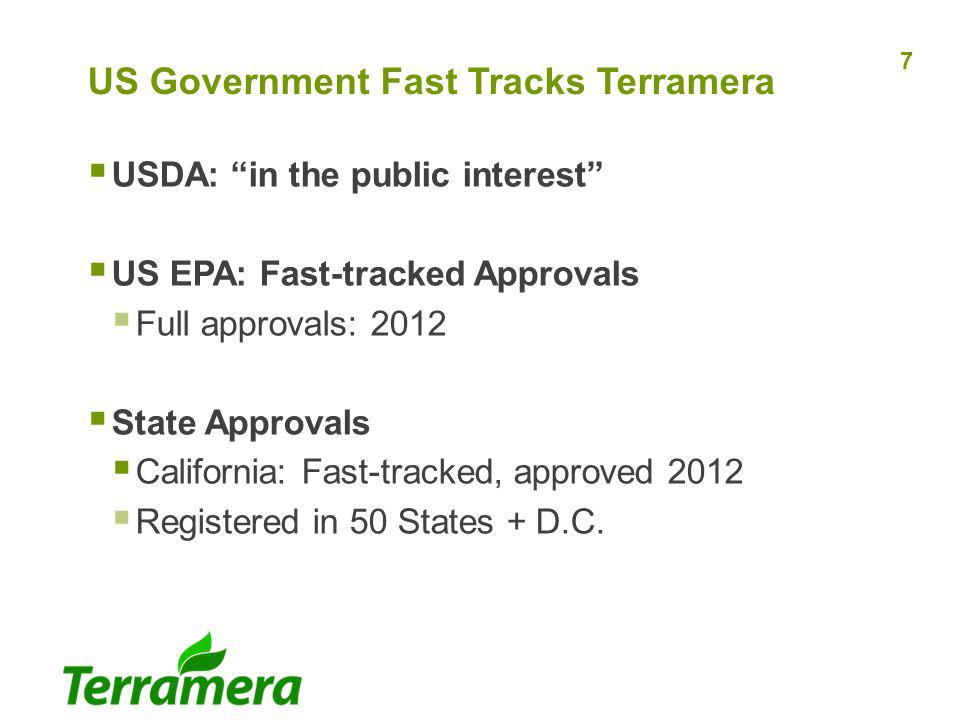 US Government Fast Tracks Terramera