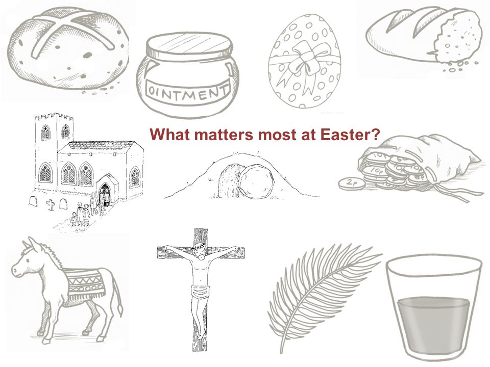 What matters most at Easter