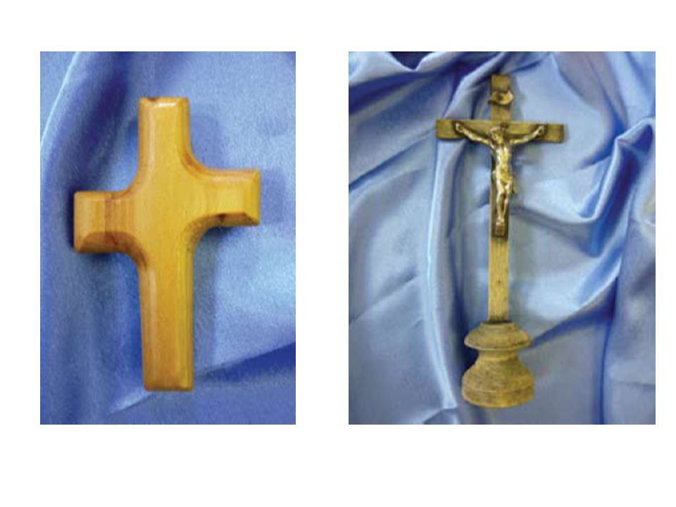 What is the difference between these two Christian symbols