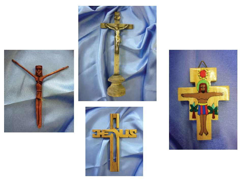 Look closely at these crucifixes