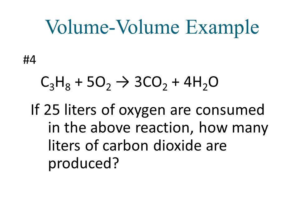 Volume-Volume Example