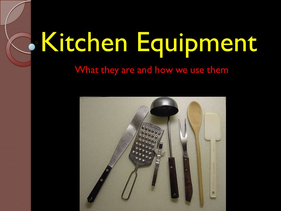 What they are and how we use them