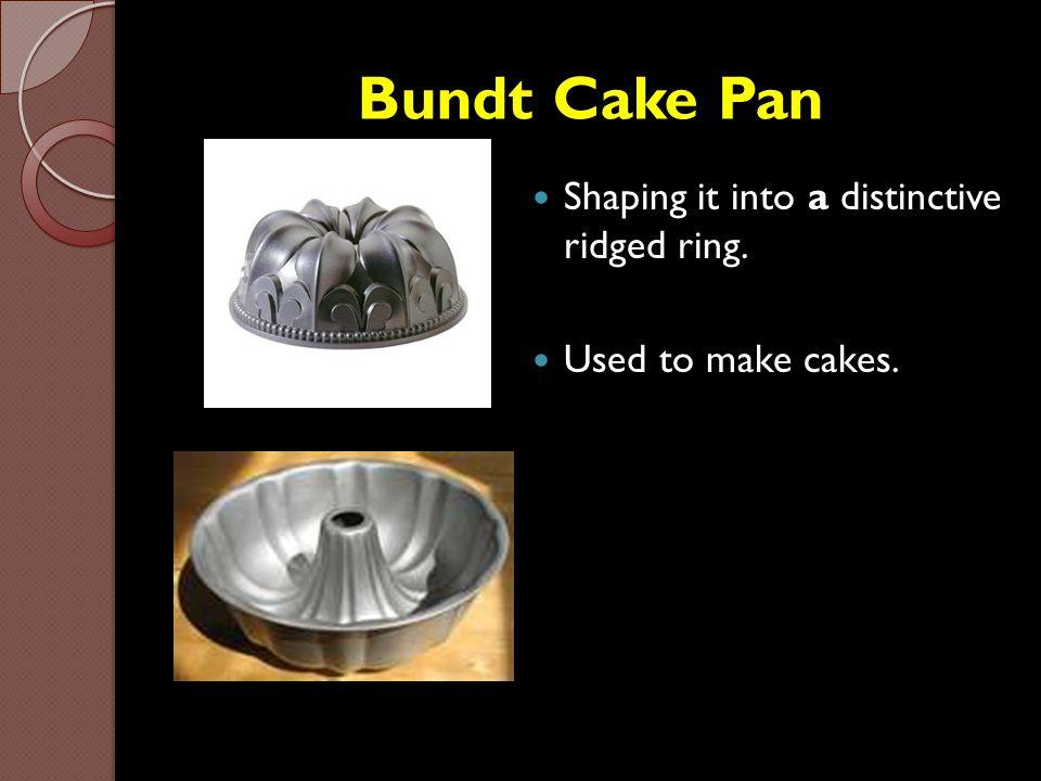 Bundt Cake Pan Shaping it into a distinctive ridged ring.