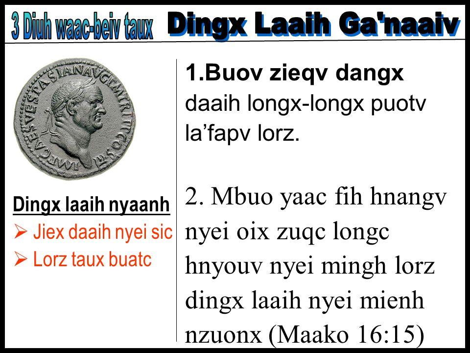 2. Mbuo yaac fih hnangv nyei oix zuqc longc hnyouv nyei mingh lorz