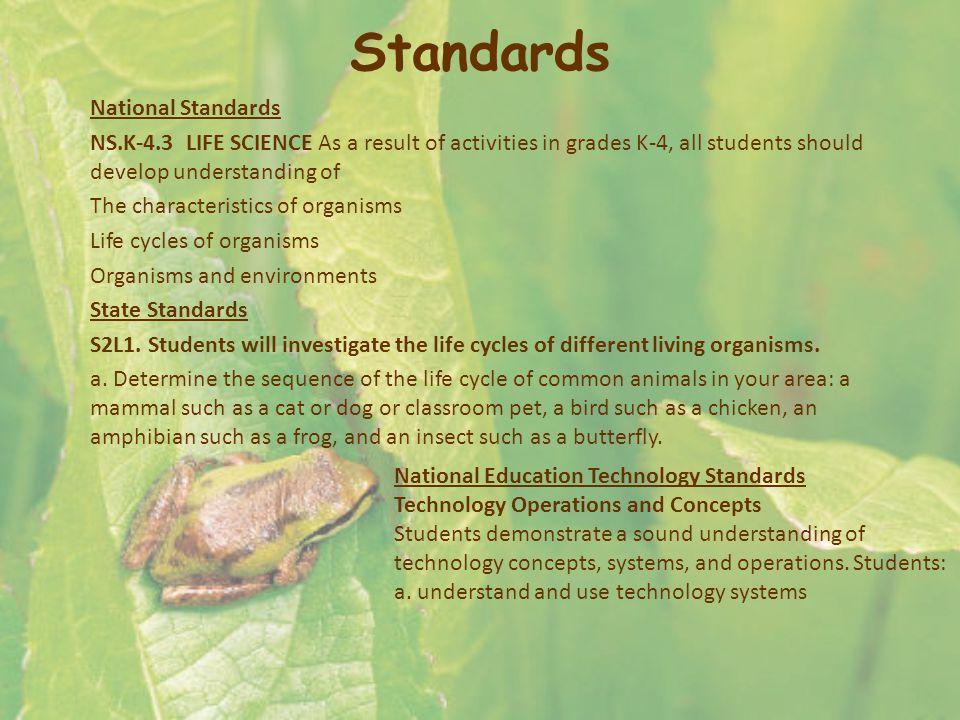Standards National Standards