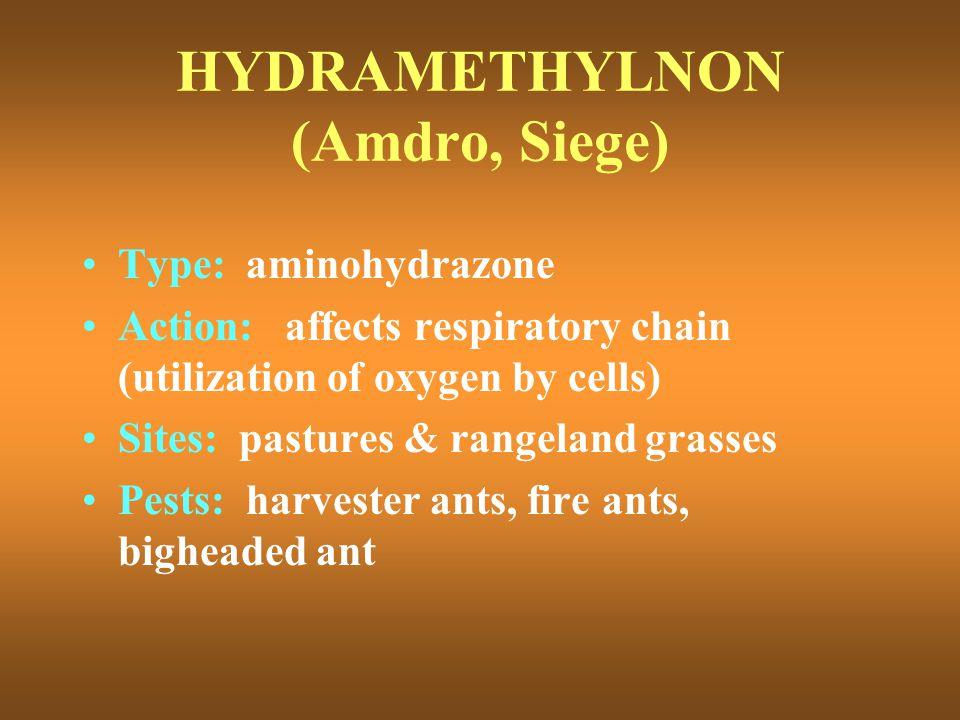 HYDRAMETHYLNON (Amdro, Siege)