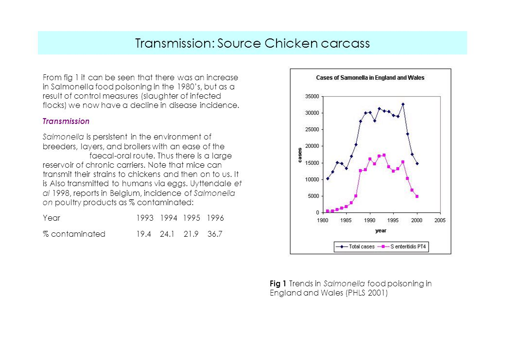 Transmission: Source Chicken carcass