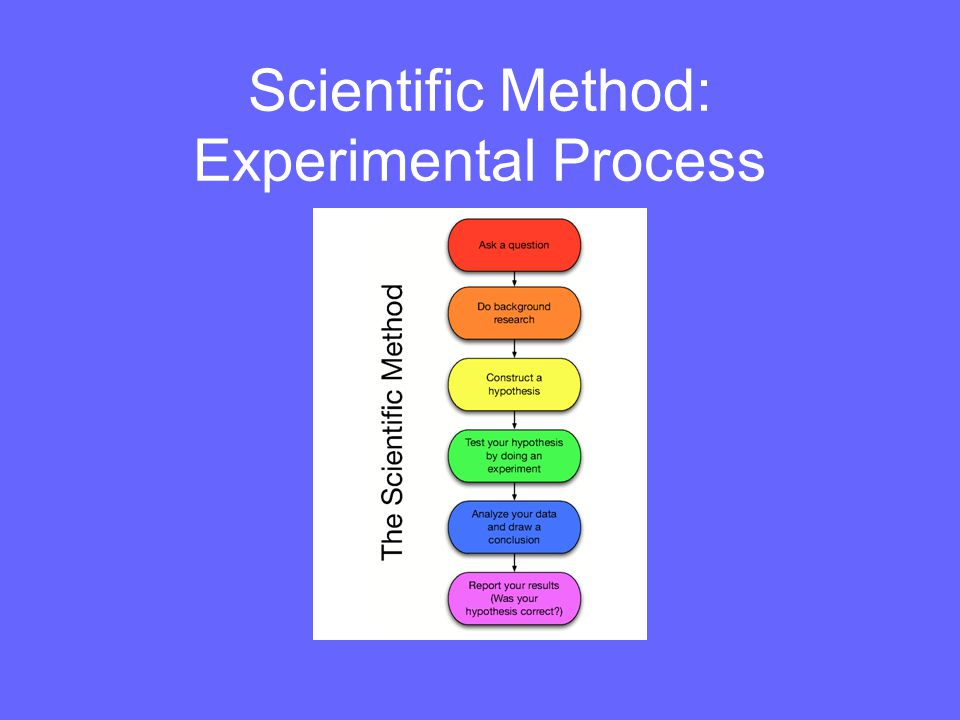 Scientific Method: Experimental Process