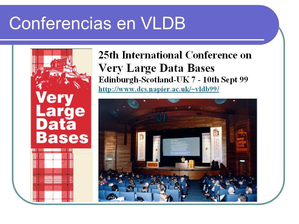 Conferencias en VLDB