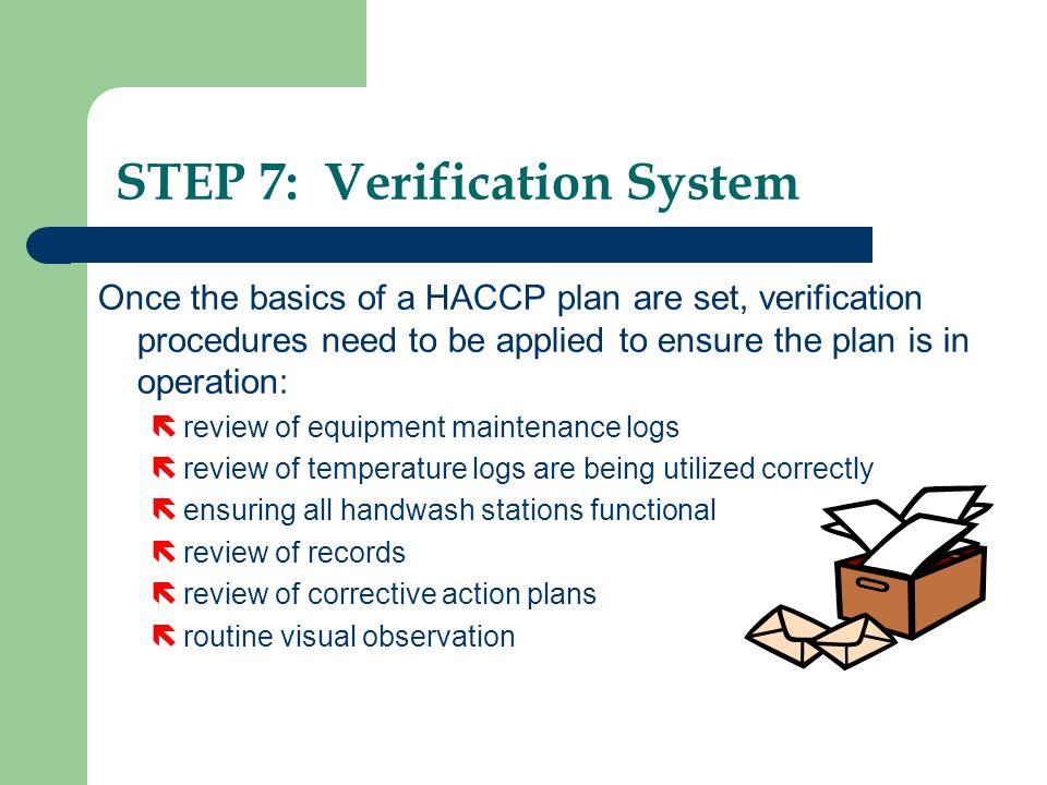 STEP 7: Verification System