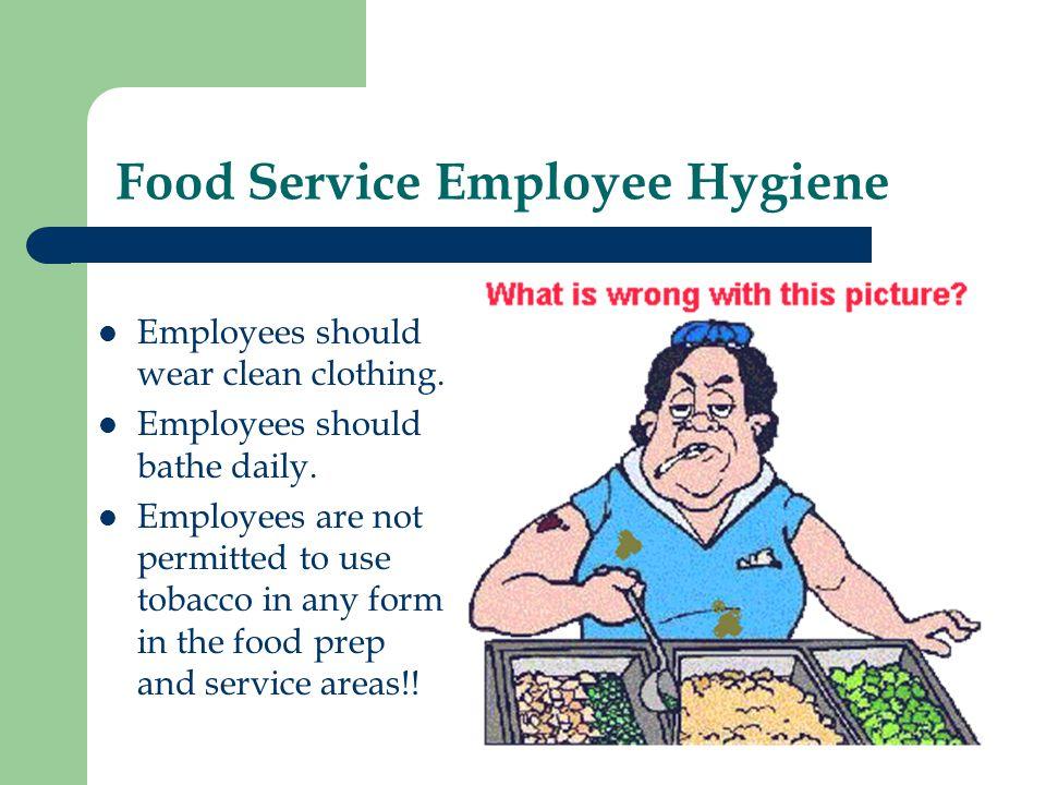 Food Service Employee Hygiene