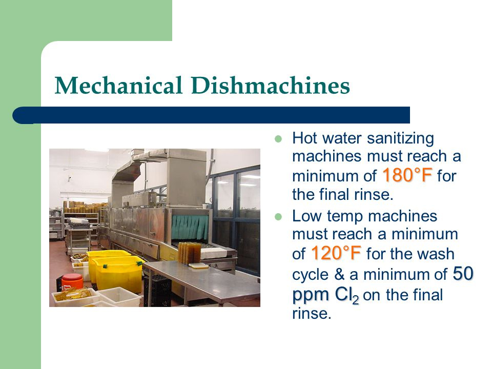 Mechanical Dishmachines