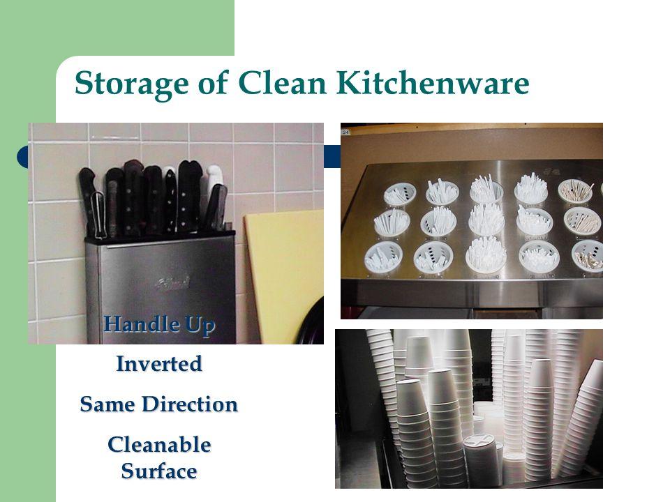 Storage of Clean Kitchenware