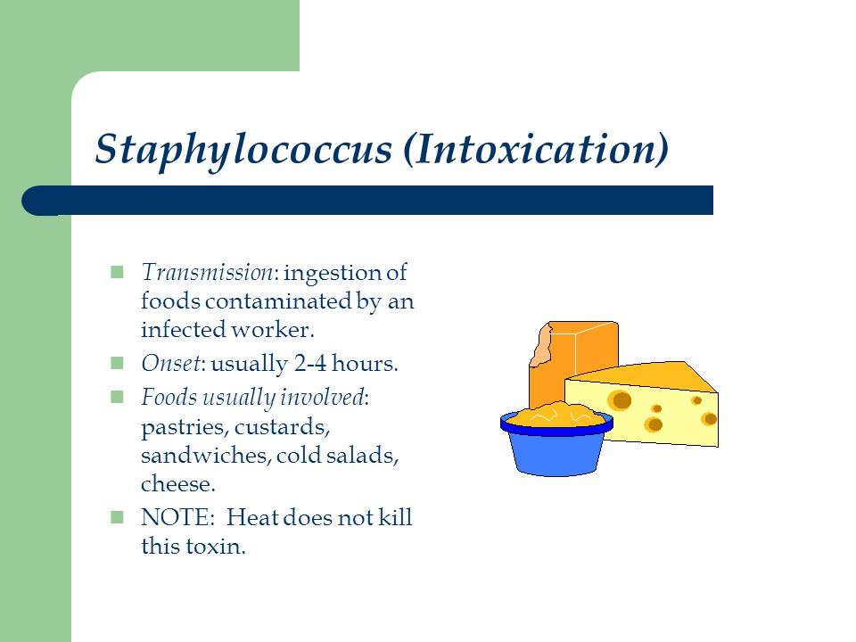 Staphylococcus (Intoxication)