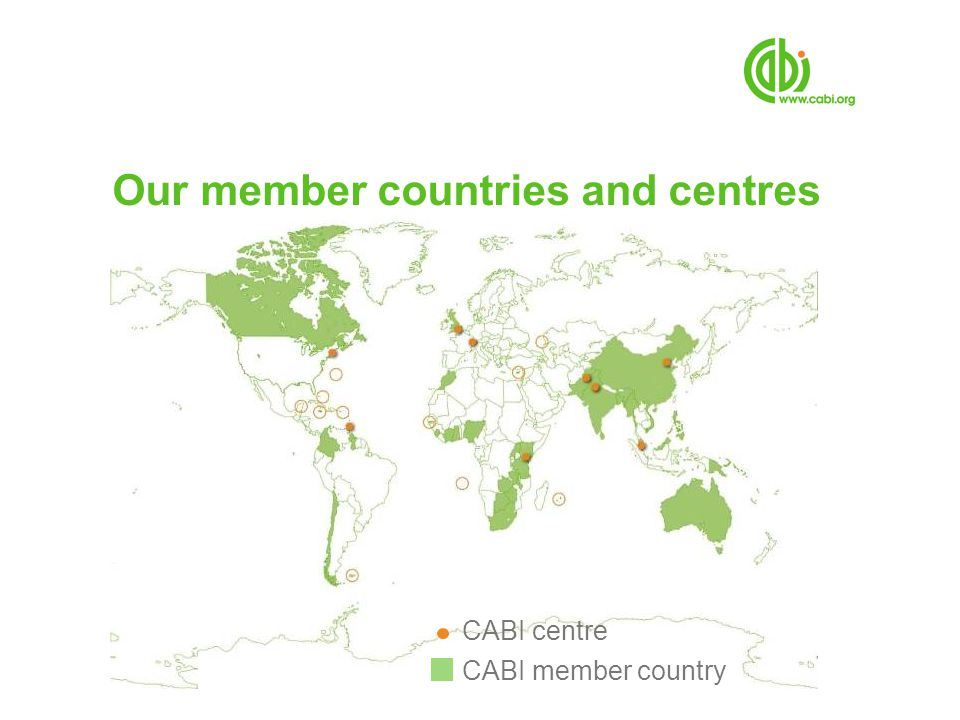 Our member countries and centres
