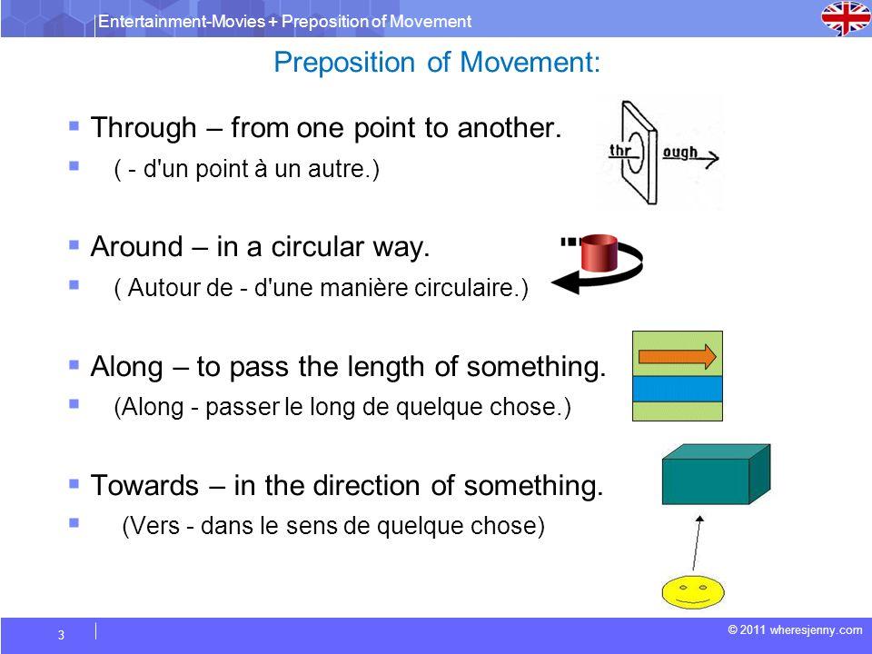 Preposition of Movement: