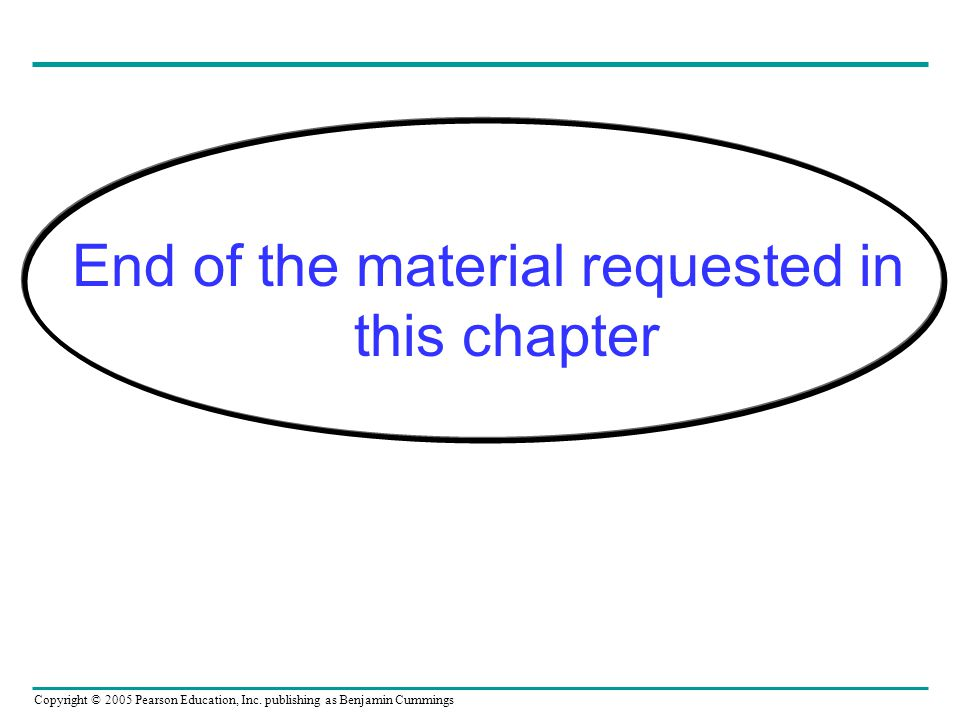 End of the material requested in this chapter