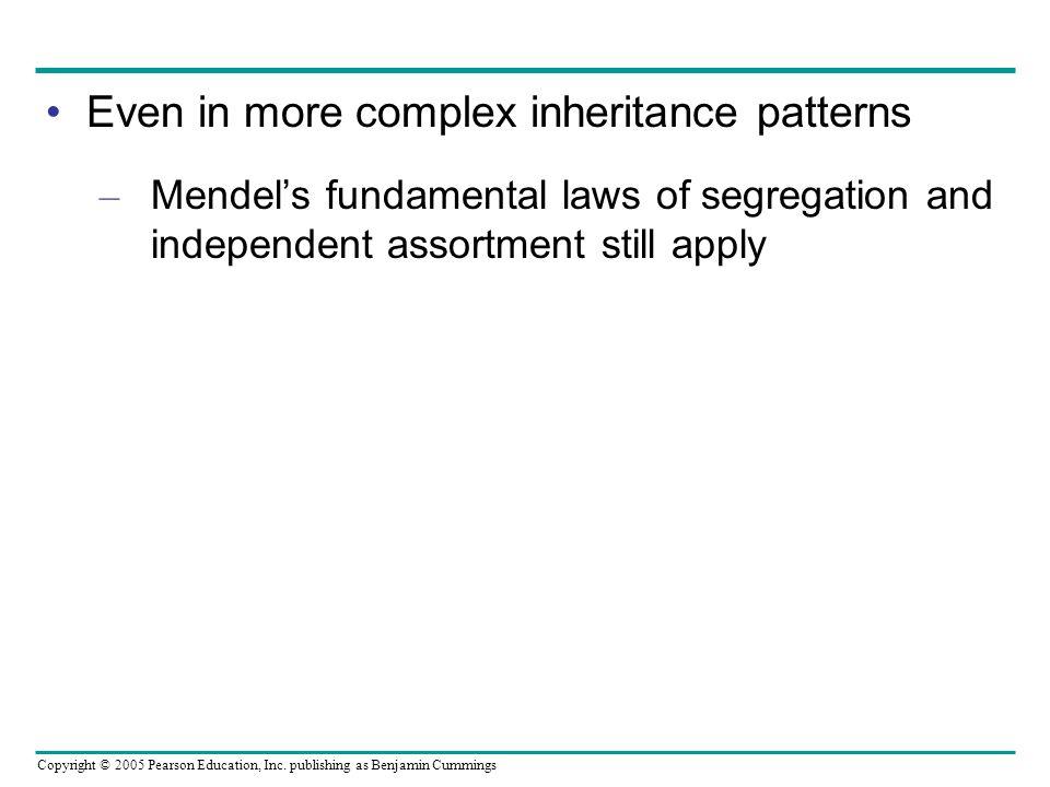 Even in more complex inheritance patterns