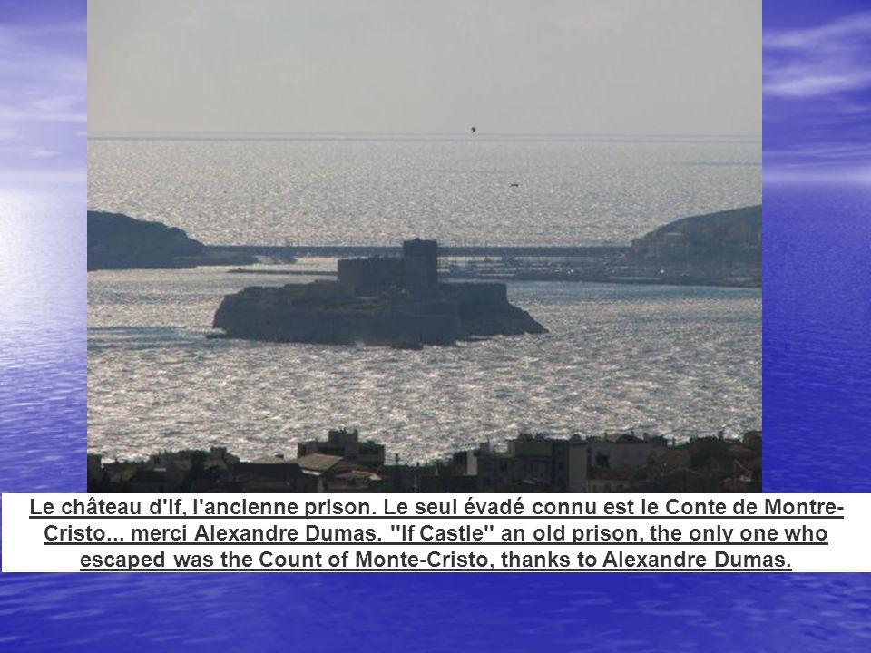 Le château d If, l ancienne prison
