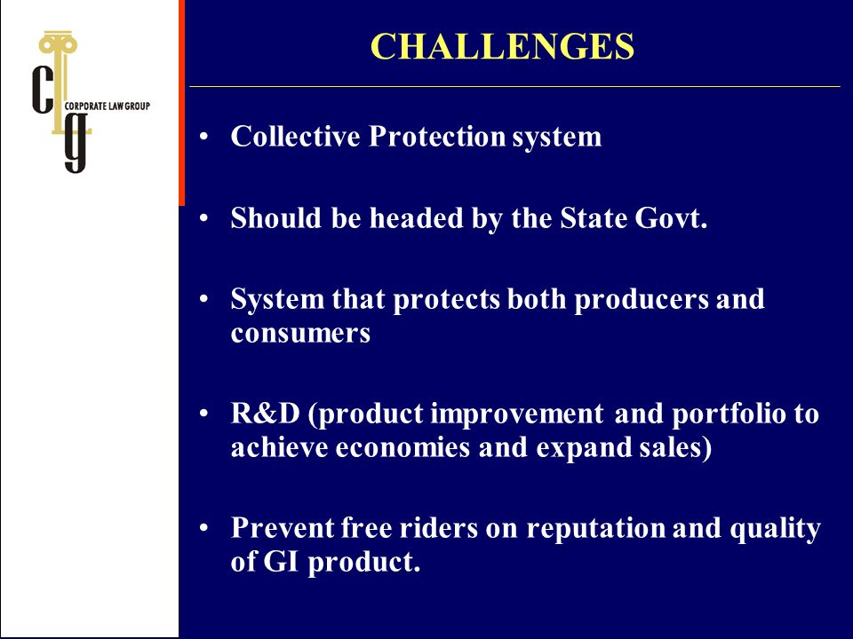 CHALLENGES Collective Protection system
