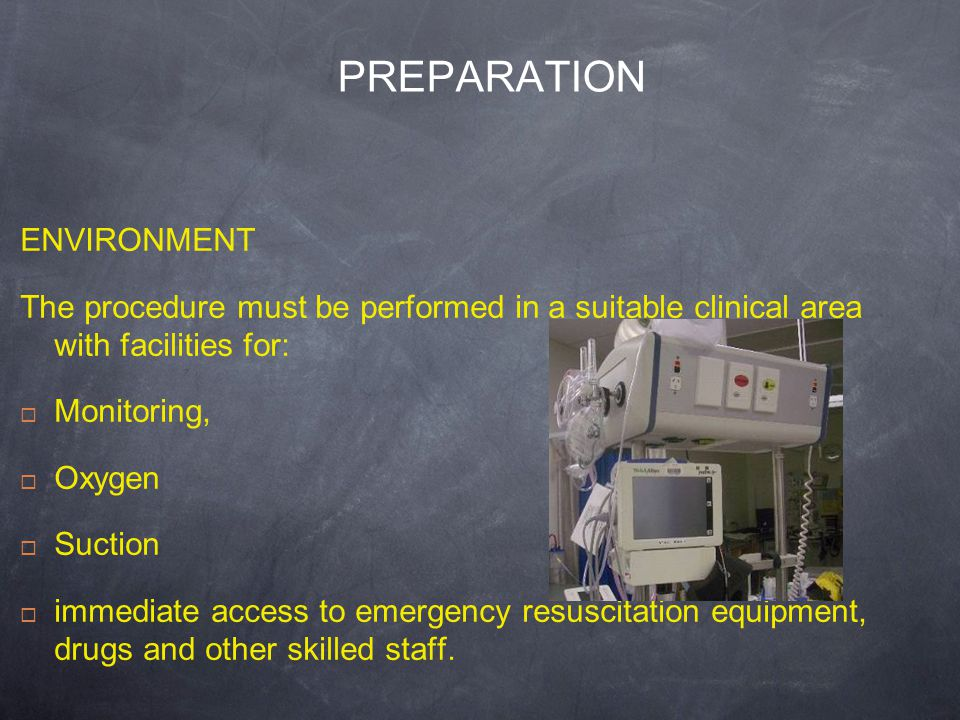 PREPARATION ENVIRONMENT