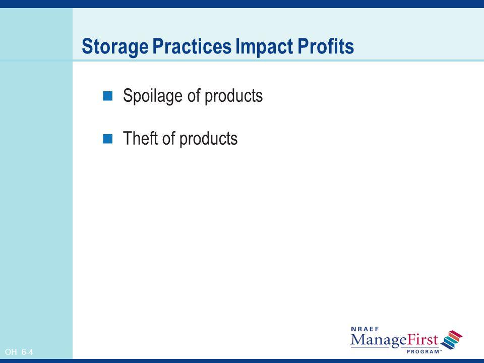 Storage Practices Impact Profits