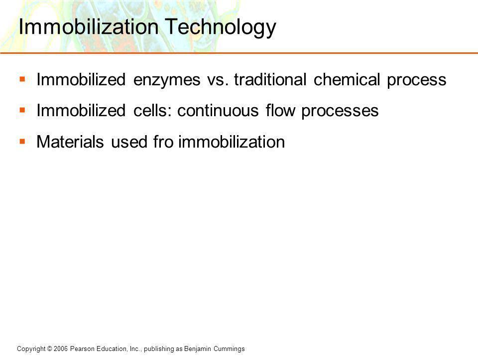 Immobilization Technology