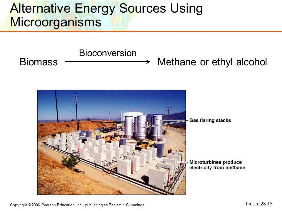 Alternative Energy Sources Using Microorganisms